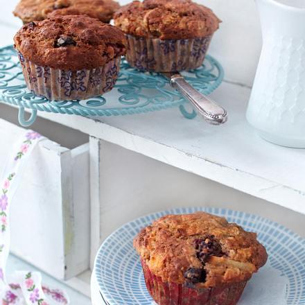 Birchermüsli-Muffins Rezept