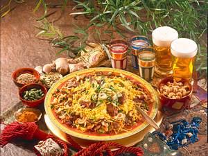 Biriani mit Lammfleisch und Lassi Rezept