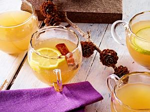 Birnen-Apfel-Punsch mit Zimt Rezept