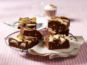 Birnen-Brownies Rezept