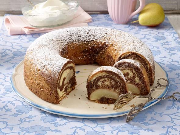 Birnen-Marmorkuchen Rezept