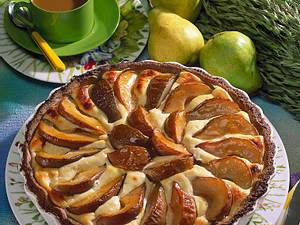 Birnen-Quark-Kuchen Rezept