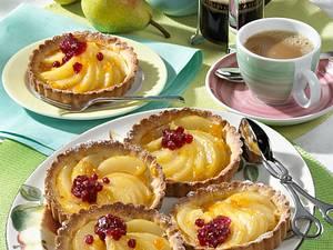 Birnen-Tarteletts (Diabetiker) Rezept