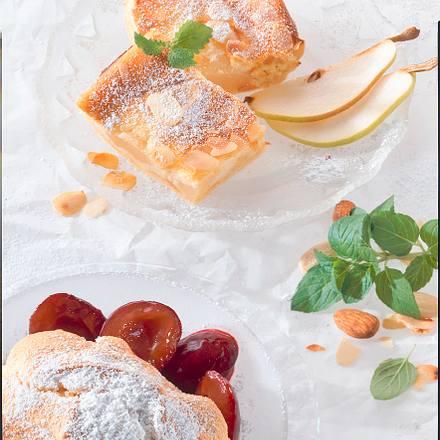 Birnen-Topfen-Kuchen Rezept