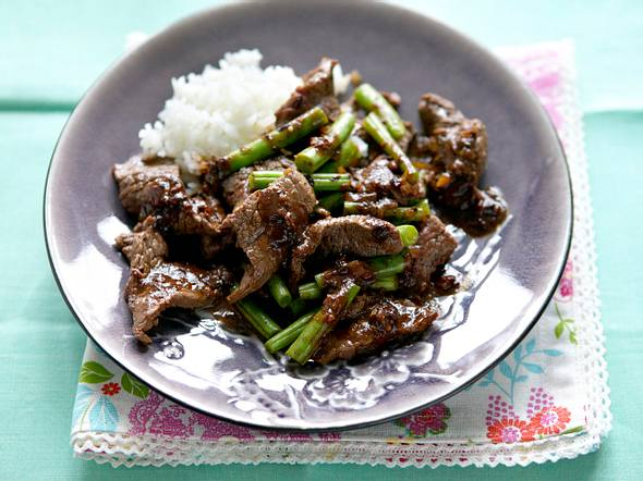 Black Bean Beef Rezept
