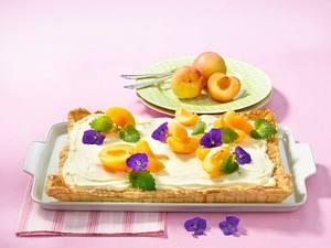 Blätterteig-Aprikosen-Tarte Rezept