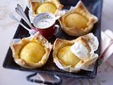 Blätterteig-Küchlein mit Calvados-Apfel Rezept