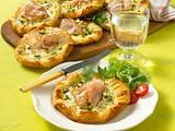 Blätterteig-Pasteten mit Schinken Rezept