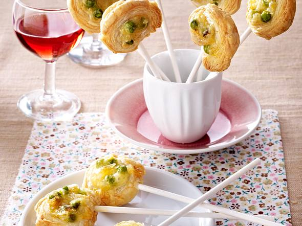 Blätterteig-Roquefort-Schnecken Rezept