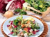 Blattsalat mit Gorgonzola Rezept