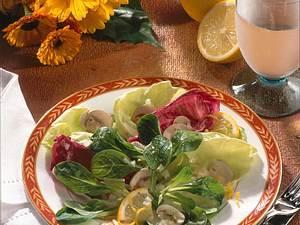 Blattsalat mit Zitronen-Marinade Rezept