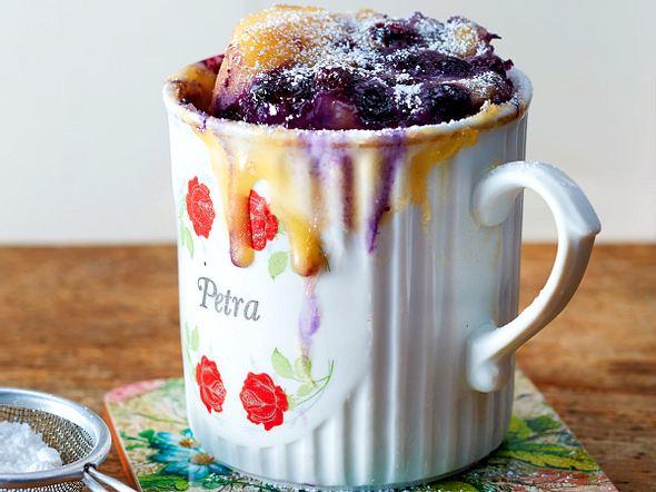 Blaubeer-Joghurt-Tassenkuchen Rezept
