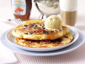 Blaubeer-Pancakes Rezept