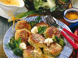 Blumenkohl-Broccoli-Bratlinge Rezept