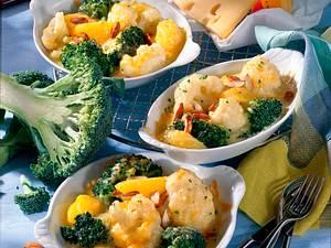 Blumenkohl-Broccoli-Pfännchen Rezept