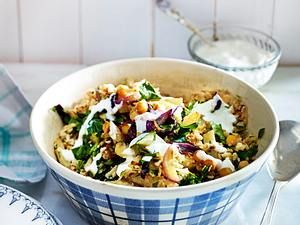 Blumenkohl-Salat mit Joghurt Rezept
