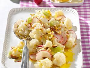 Blumenkohlsalat mit Ei-Vinaigrette Rezept