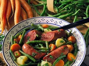 Bohneneintopf mit Kochwürsten Rezept
