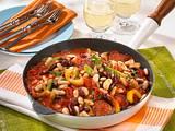 Bohnenpfanne à la Chili con Carne Rezept