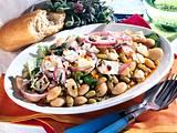 Bohnensalat mit Schafskäse Rezept