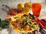 Bohnensalat zu Lammkoteletts Rezept