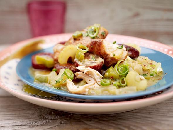 Boo´s Chicken & Sausage Gumbo Rezept