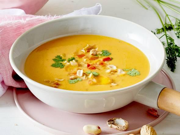 Brainfood-Suppe mit Kokosmilch & Möhren Rezept