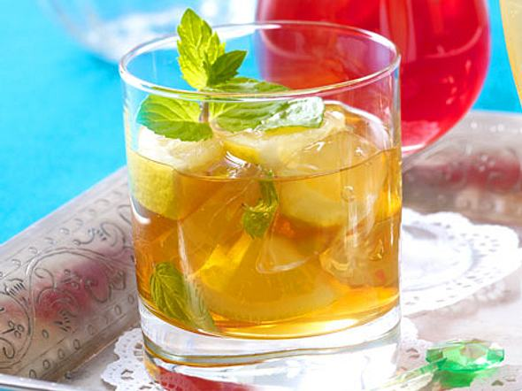 Brandy Bloom Smash Rezept