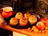Bratäpfel und Vanillesoße Rezept