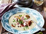 Bratkartoffel-Cremesuppe mit Kasseler Rezept