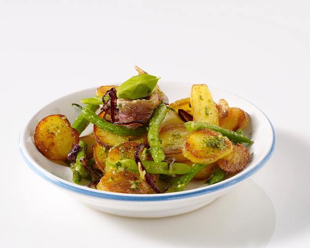 Bratkartoffeln mit Pesto Rezept