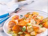 Bratkartoffeln und Pannfisch Rezept