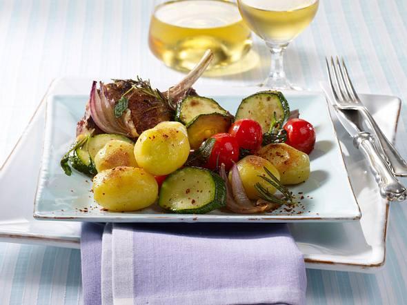 Bratkartoffeln zu Lammkoteletts Rezept