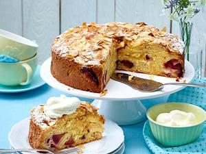 Bretonischer Apfel-Pflaumen-Kuchen  Rezept