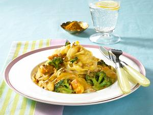 Broccoli-Hähnchen-Ragout in Currysoße Rezept