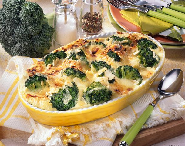 Broccoli-Kartoffelpüree-Auflauf Rezept