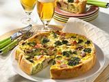 Broccoli-Kuchen mit Kasseler Rezept