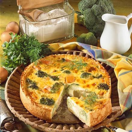 Broccoli-Lachs-Kuchen Rezept