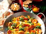 Broccoli-Möhren-Pfanne Rezept