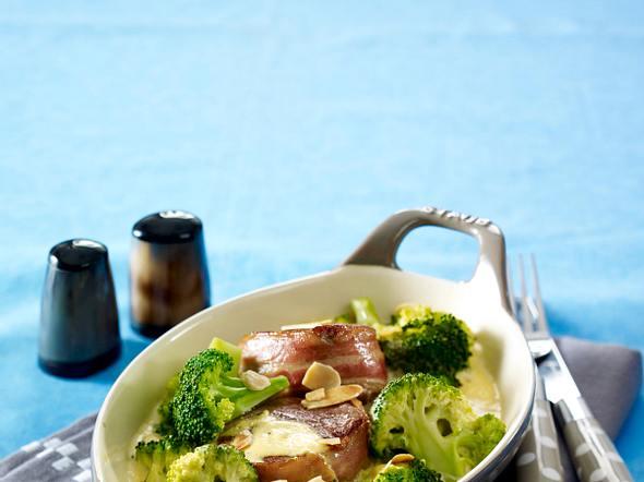 Broccoli-Schweinefilet-Gratin Rezept