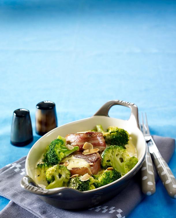 broccoli schweinefilet gratin rezept lecker. Black Bedroom Furniture Sets. Home Design Ideas