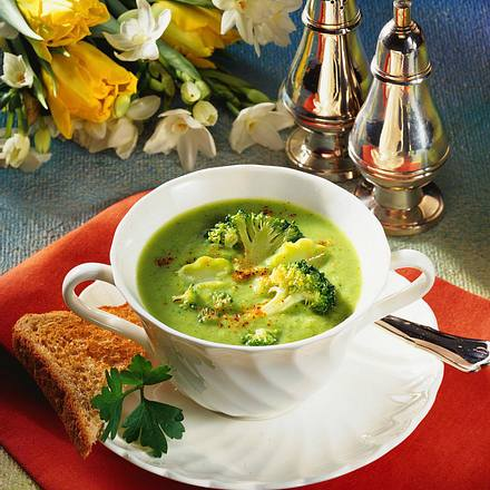 Broccolicremesuppe Rezept