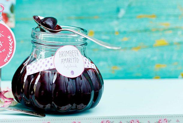 Brombeer-Amaretto-Aufstrich Rezept