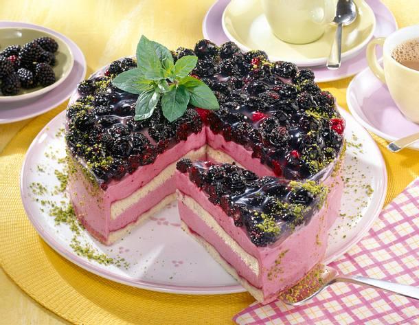 Brombeer-Joghurt-Torte Rezept