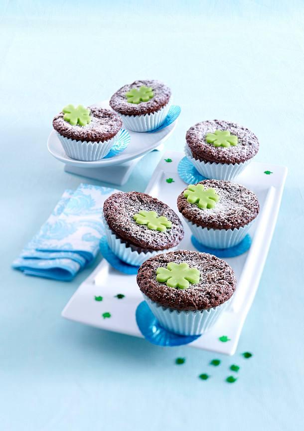 Brownie-Muffins Rezept