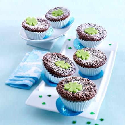 Brownie-Muffins (Glücksbringer) Rezept
