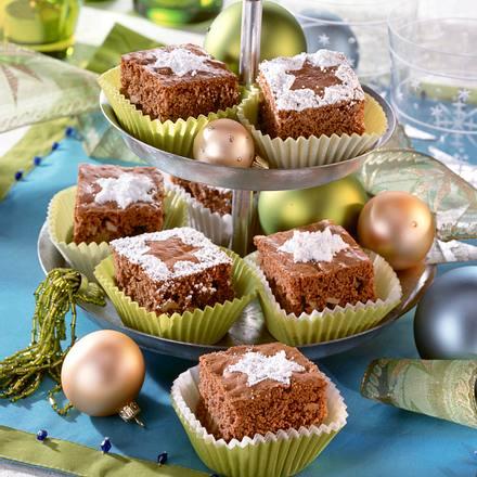 Brownie-Nuss-Würfel Rezept
