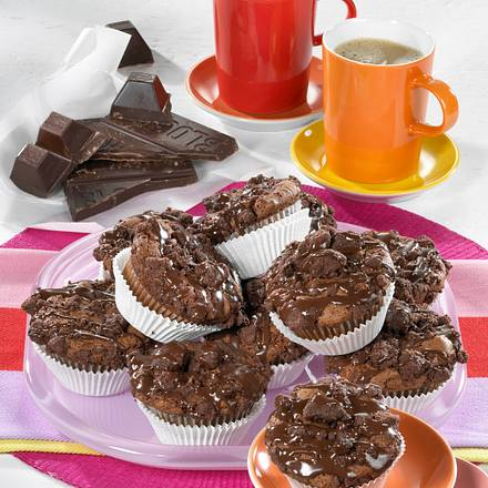Brownie-Streusel-Muffins Rezept