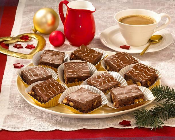 Brownies mit Erdnüssen Rezept