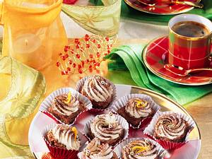 Brownies mit Orangencreme Rezept